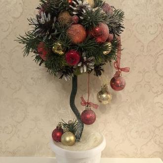 Топиарий рождественское дерево