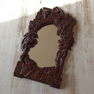 Зеркало (резная рама, драконы) игра престолов