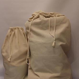 мешок большой из натуральной ткани 85*160 см.