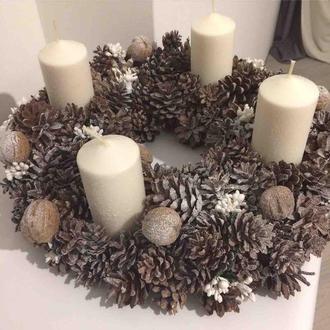 Адвентовский рождественский венок