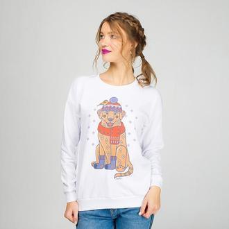 Женский свитшот с принтом