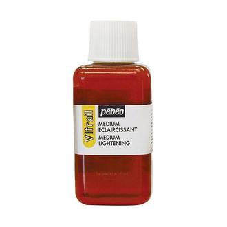 Медиум для витражных красок Pebeo Vitrail осветляющий 250 мл