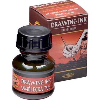 Тушь Koh-i-Noor Drawing Ink 20 мл Умбра жженая