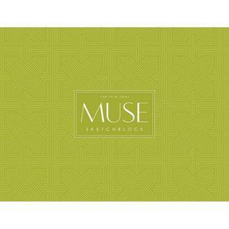 Альбом для эскиза MUSE Sketchblock A4+ 100г/м2 40 листов