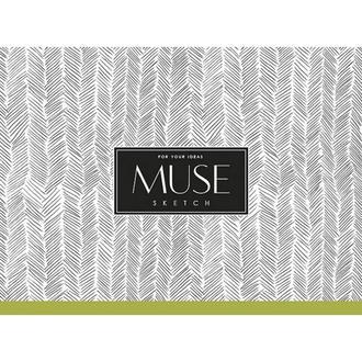 Альбом для эскиза MUSE Sketch A5 100г/м2 40 листов