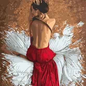 Набор для акриловой живопись по номерам Идейка Манящий взгляд 40 х 50 см (КНО4546)