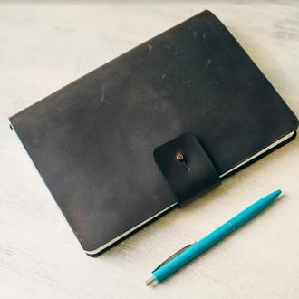 Скейчбук из натуральной кожи, блокнот, ежедневник, подарок парню или девушке