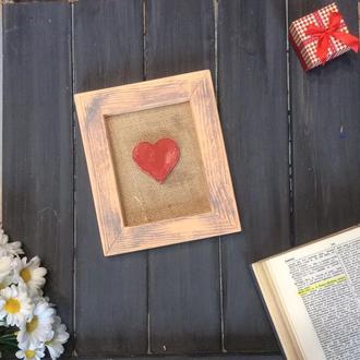 "Рамка декоративная ""Ты моё сердце"""