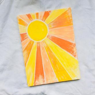 """Картина """"Солнце 2"""""""