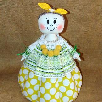 Народная баба-грелка для чайника