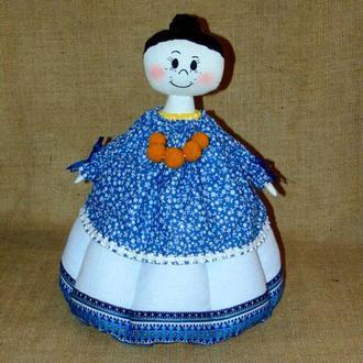 Народная баба-грелка для чайника Мария