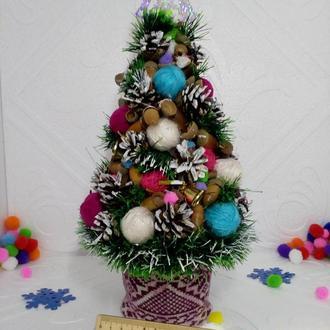 Новогодняя эко елочка