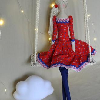 Кукла в стиле Тильда Дианна 48см