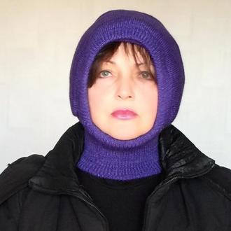 Зимняя шапка шлем для взрослых