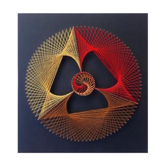 Картина из ниток, string art Космос (стринг арт)
