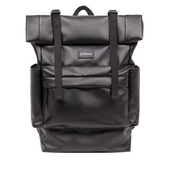 Z-roll black leather