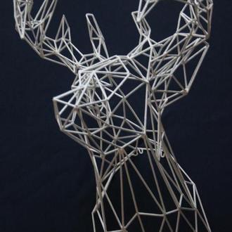 Голова оленя 3D