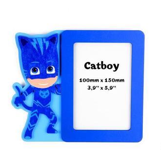 Детская фоторамка Catboy, Кэтбой, фоторамка Герои в масках, настенная рамка для фото