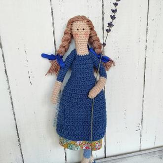 Вязаная кукла (Кукла крючком)