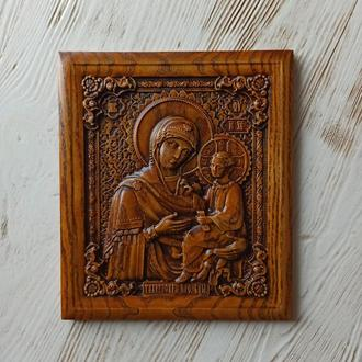 Икона Тихвинская Богоматерь