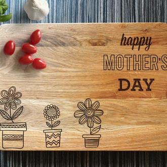 "Разделочная доска ""Happy mother's day"""