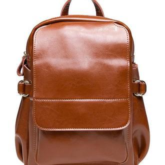 Женский кожаный рюкзак GR-8128LB