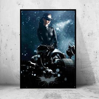 """Постер на ПВХ """"Batman: The Dark Knight Rises / Бэтмен: Тёмный рыцарь: Возрождение легенды"""" #4"""