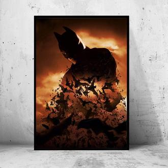"""Постер на ПВХ """"Batman Begins / Бэтмен: Начало"""" #2"""
