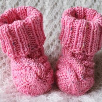 Твидовые носочки