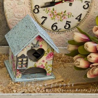 чайный домик весенний