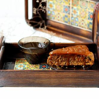 Деревянный поднос для кухни в мексиканском стиле Талавера, поднос с плитками