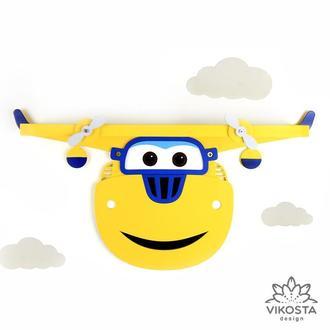 Детская деревянная полка Донни, Супер Крылья, полка дня книг, полка для игрушек, декор для детской