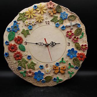 Часы керамические настенные.