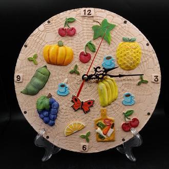Часы керамические настенные