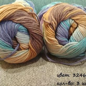 Пряжа ′Coton Gold Batik′ для вязания ТМ ′Alize′