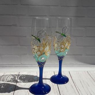 Бокали для шампанського