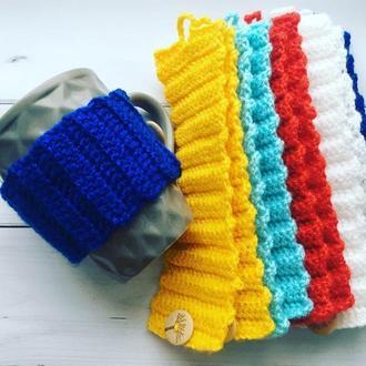 Грелка на Чашку, теплушка на кружку, свитер на Чашку, подарок на новый год