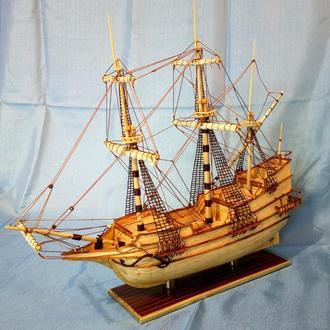 "Модель парусника ""Golden Hind"" 1577г."