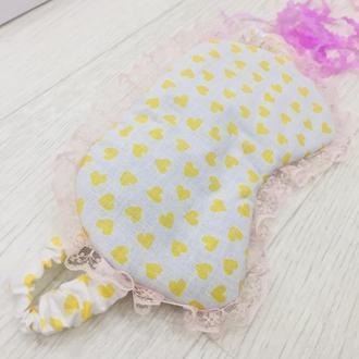 маска для сна-повязка на глаза для сна-кружевная маска с принтом-подарок подруге-