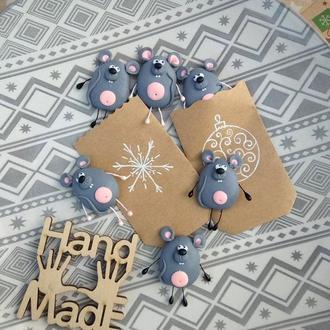 Магнит символ года крыса мышь