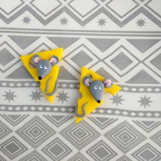 Магнит новогодний символ года крыса мышь