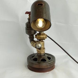 лампа настольная лофт стимпанк