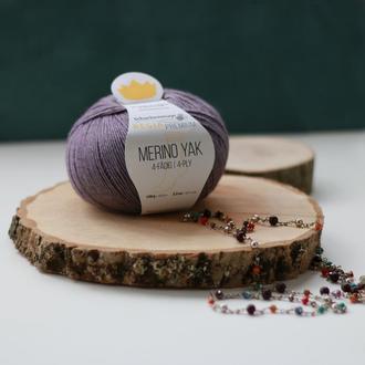 Regia Premium Merino Yak, lavendel meliert