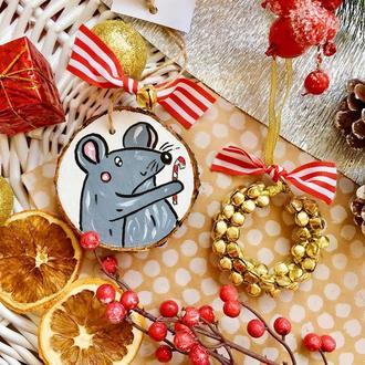 Подарочный набор новогоднего декора.