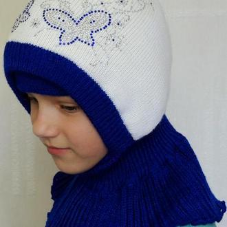 Шапка зимняя шлем