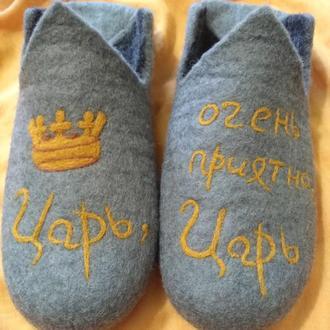 Тапочки валяные из шерсти #тапки#подарунки#ексклюзивнодляВас