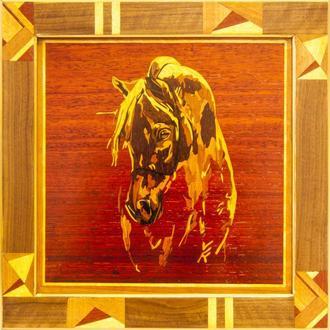 Мозаичное панно. Лошадь 1.3