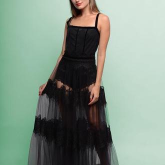 Сукня сітка