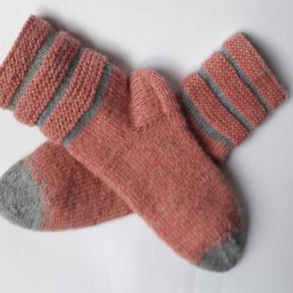 Вязаные носки.Шерстяные носки.