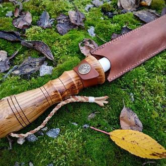 Керамический мусат с кожаным чехлом